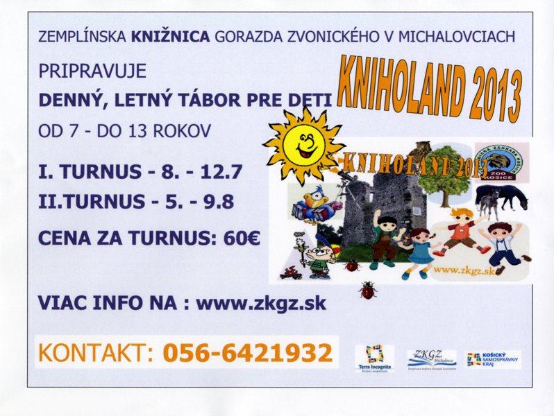 Kniholand 2013