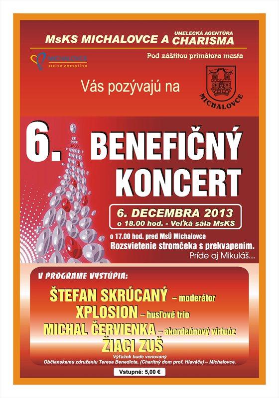 beneficny koncert