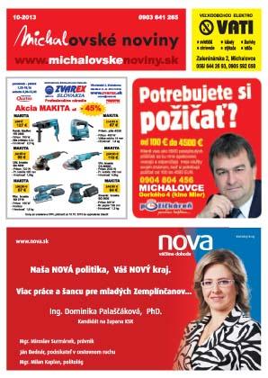 michalovske noviny oktober1 kopie