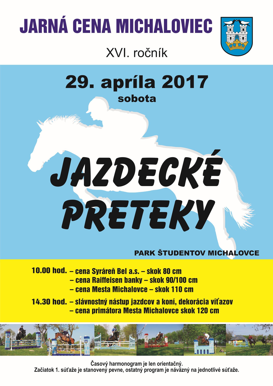 Plagat - Jazdecke preteky